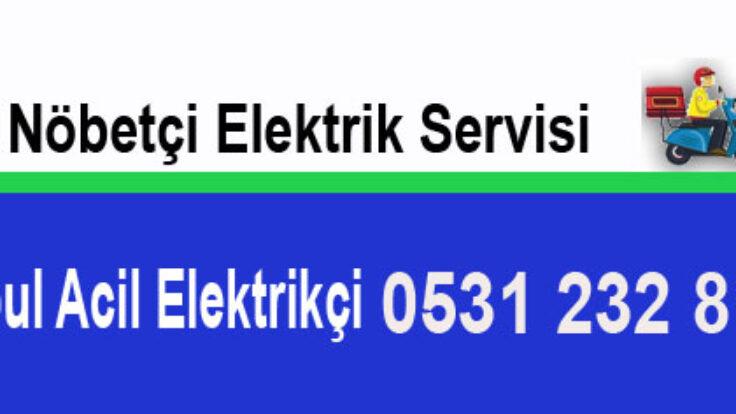 Nöbetçi Elektrikçi Servisi